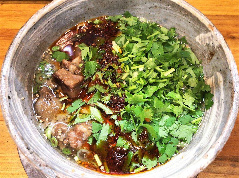蘭州風牛肉麺