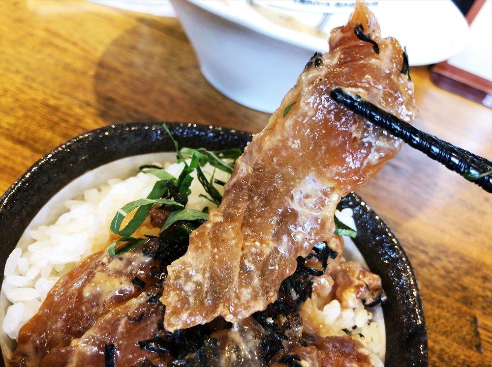 麺屋さすけのゴマダレ鯛茶漬け飯