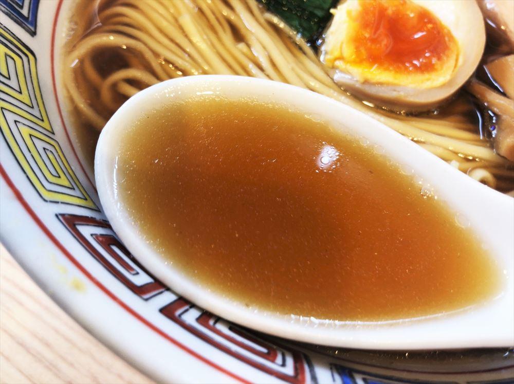 ほっこり中華そば もつけ「中華そば」のスープ