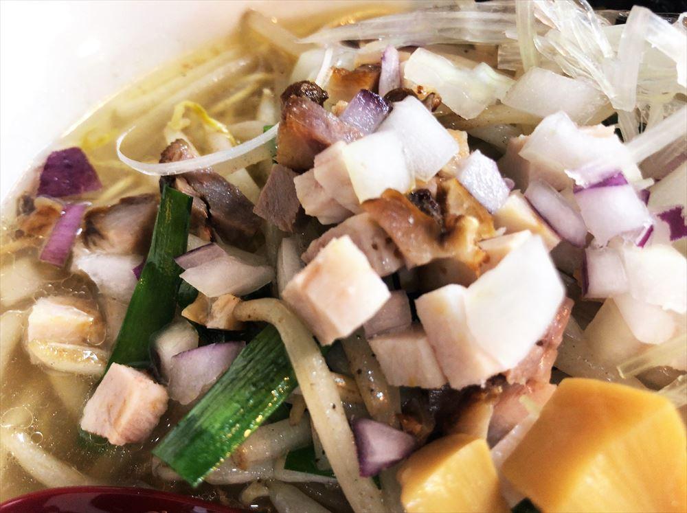 麺屋 KAZU-G「塩野菜タンメン」