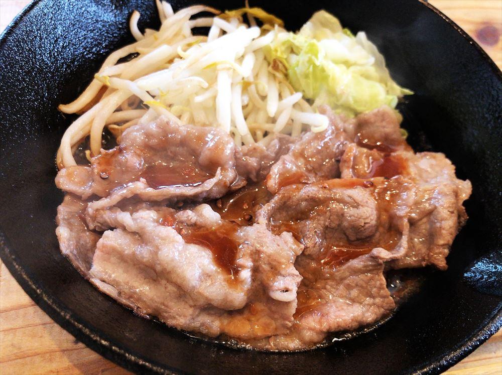 浜名屋食堂「牛焼肉定食」