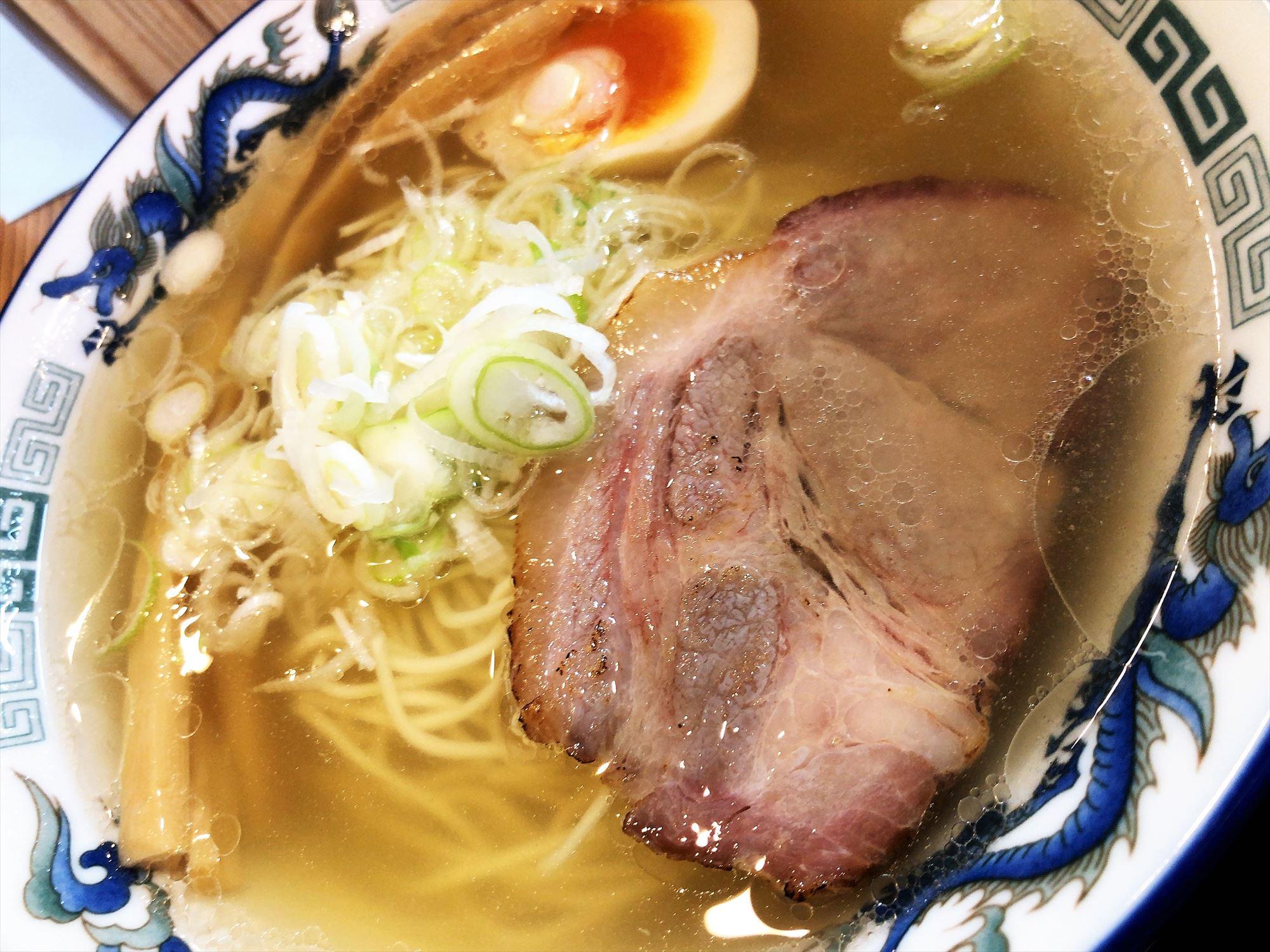 麺屋 たいちゃん「塩ラーメン」