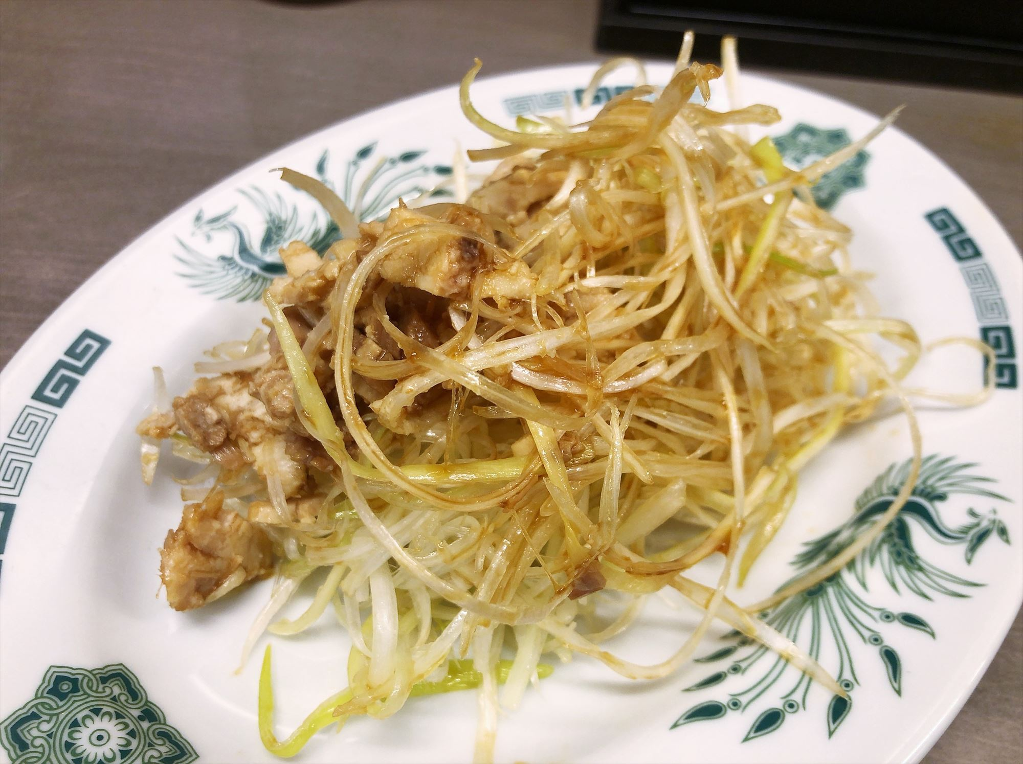 中華料理 来来軒 大宮南銀座店のおつまみネギチャーシュー