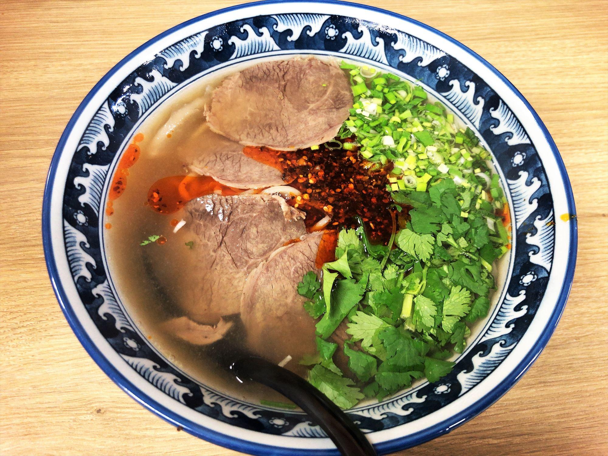 牛百味「牛百味蘭州牛肉麺」