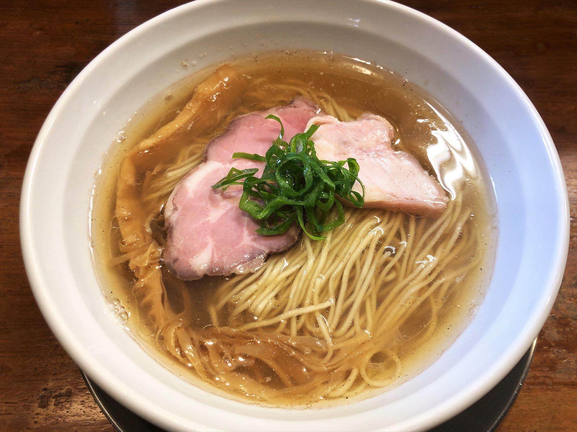 麺屋 菜花奈「魚貝潮」