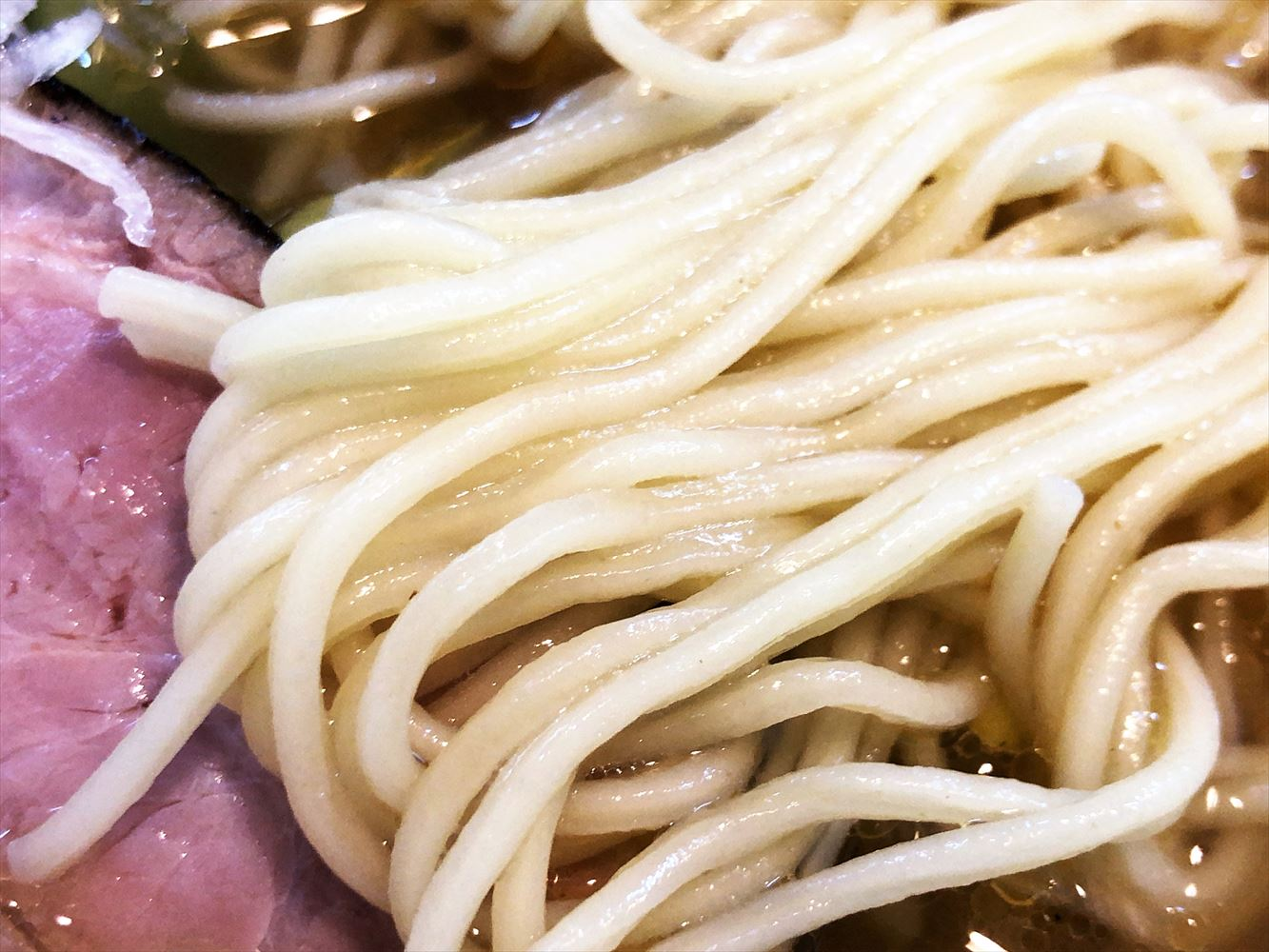 麺屋 真「しお」の麺
