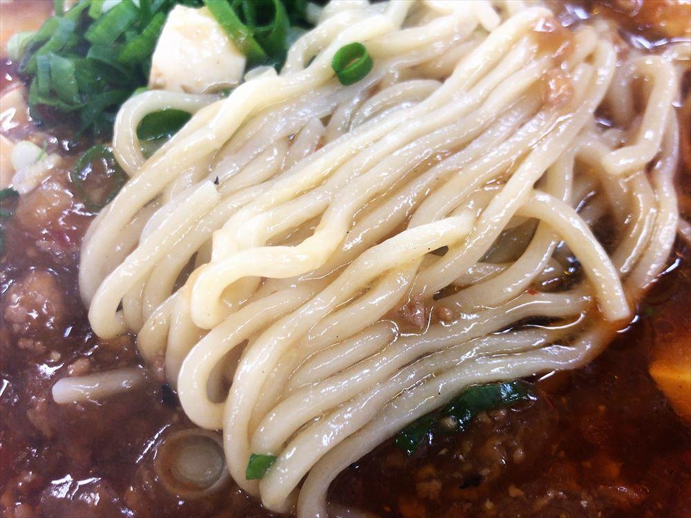 めんくい亭「マーボラーメン」の麺