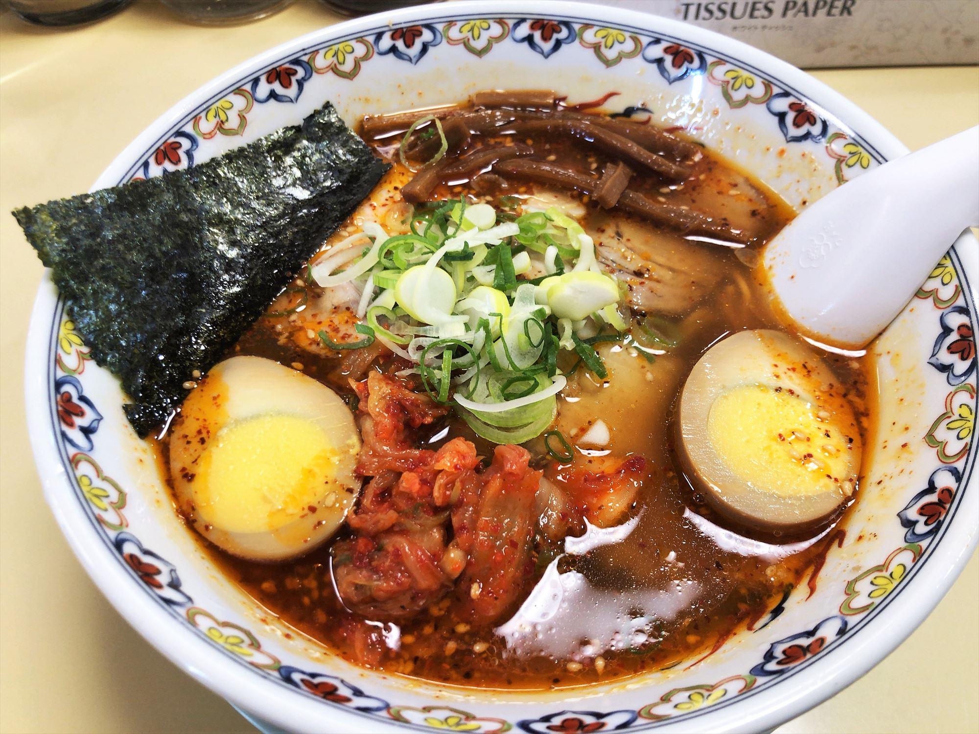 カナキン亭 八楠店「プロペラ麺」