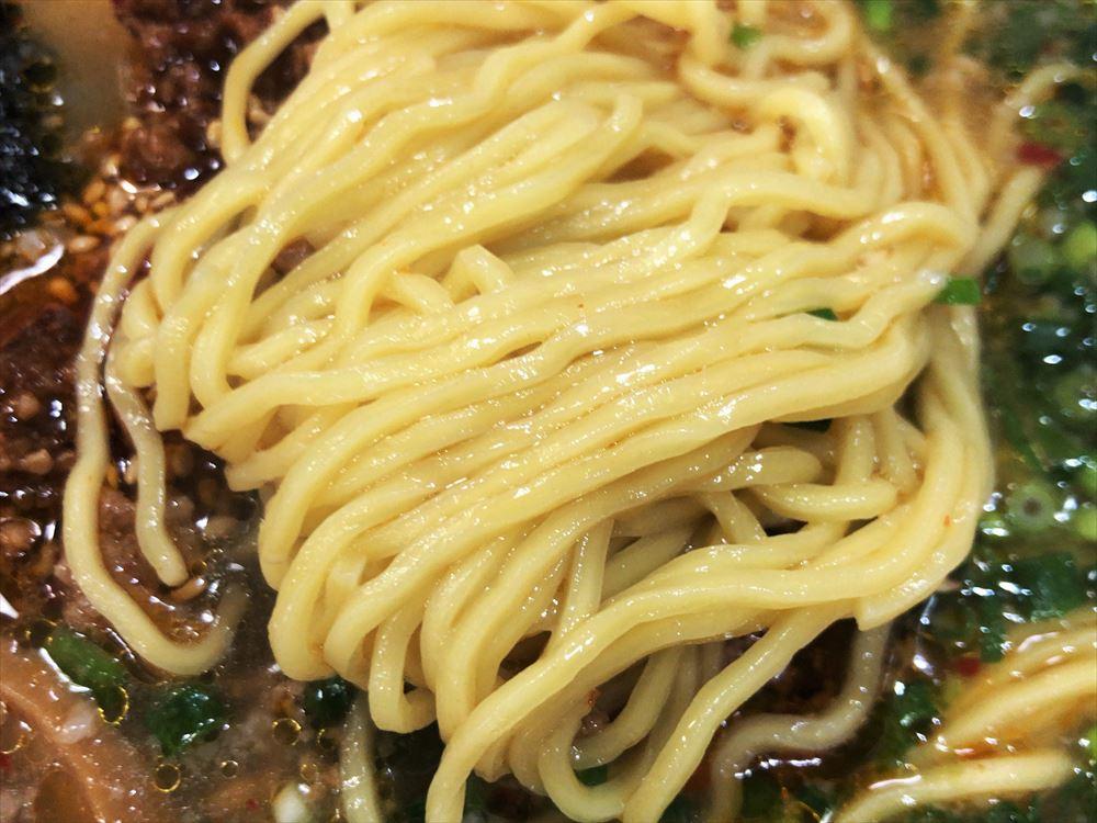 まる舞「まる舞定食(チャーシュー丼)」の麺