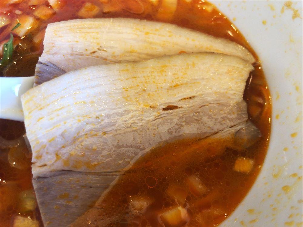 らぁ麺 めん奏心「ラートマ」のチャーシュー