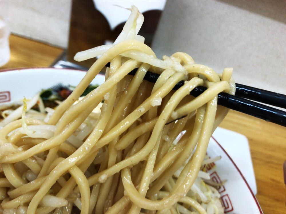 バカ盛りらーめん TABOO「ガンジャ」麺