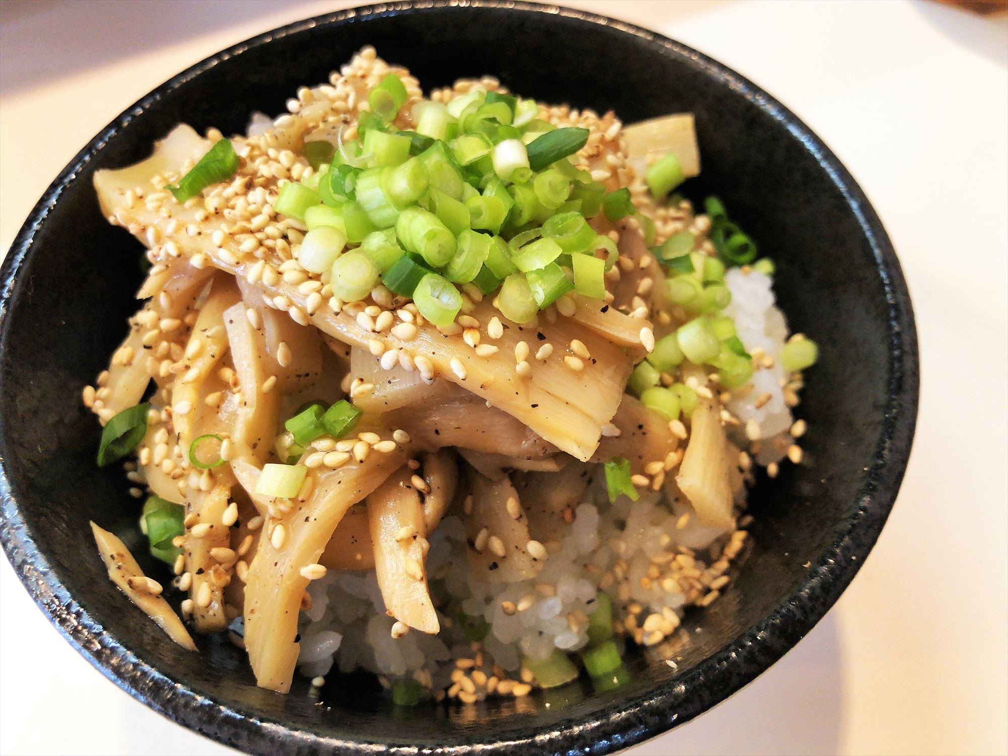 濃厚中華そば 麒麟「メンマ丼」