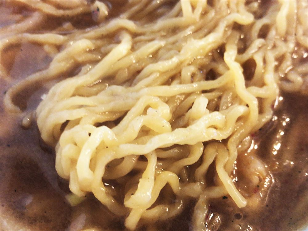 麺屋 天一「天一ラーメン」の麺