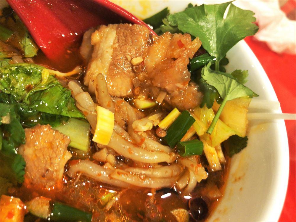 汁なし担々麺っぽい専門店 ラボラトリー「水煮肉片」の具