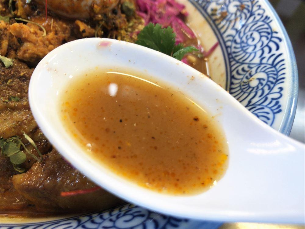 麺屋 AMORE×SPICE CURRY GHAL「大阪」スープ