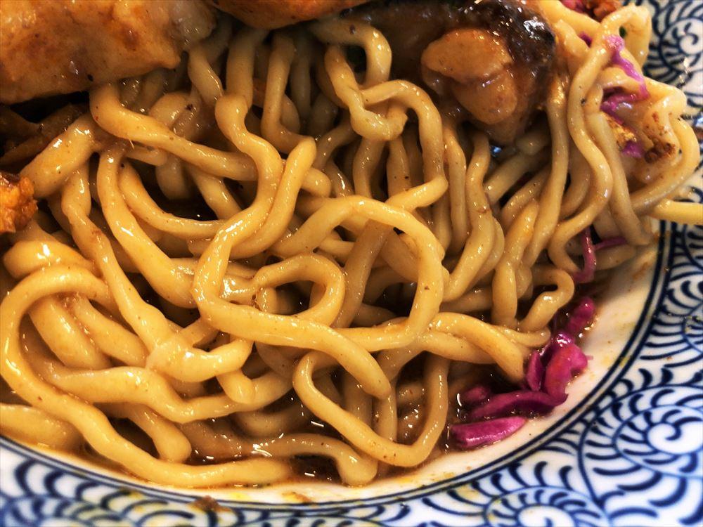 麺屋 AMORE×SPICE CURRY GHAL「大阪」麺