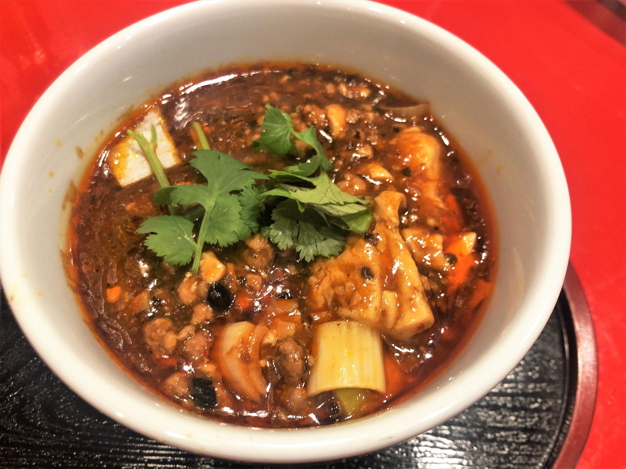 汁なし担々麺っぽい専門店 ラボラトリー「四川麻婆豆腐」