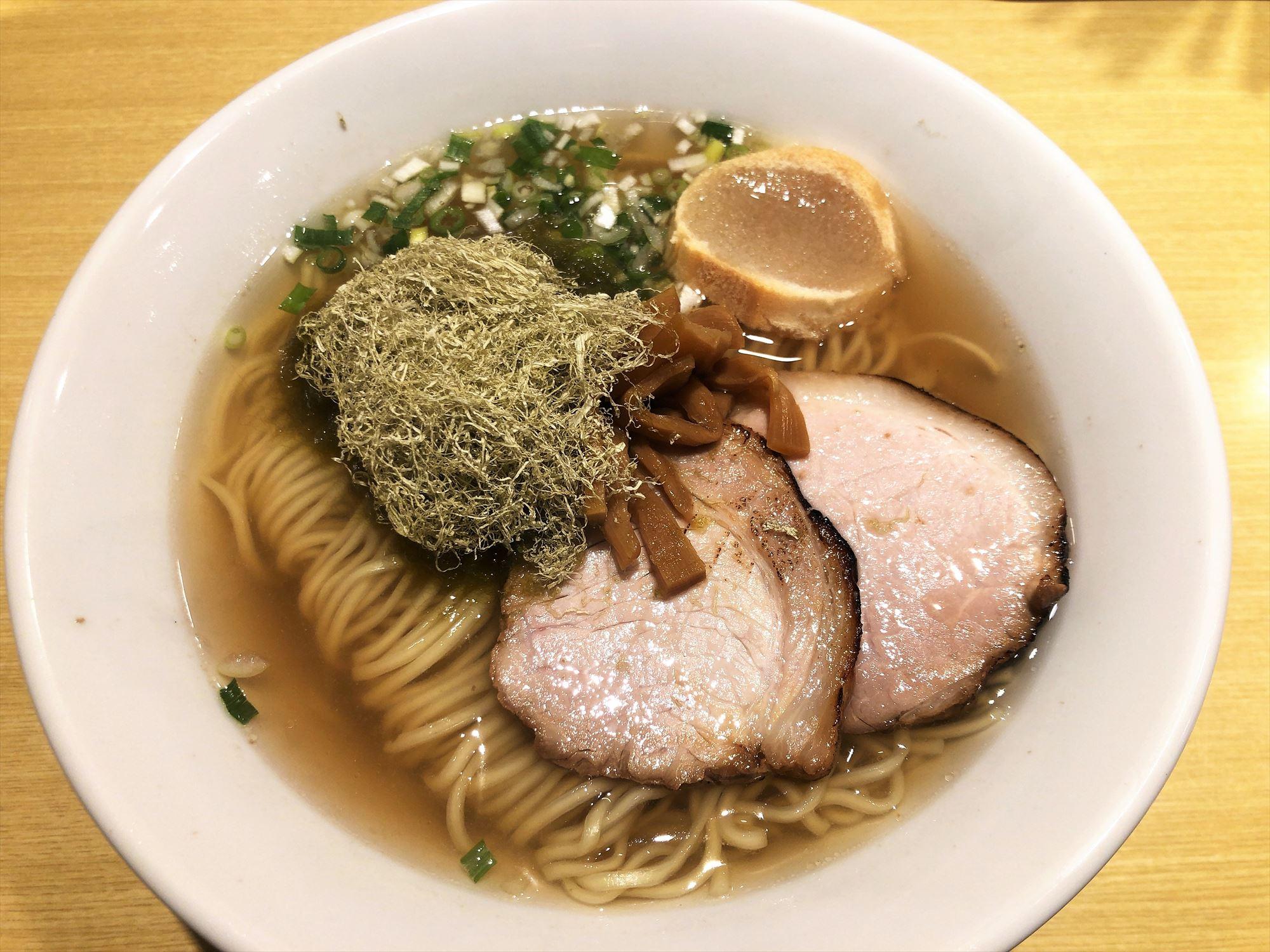 函館塩ラーメン 五稜郭「ラーメン」