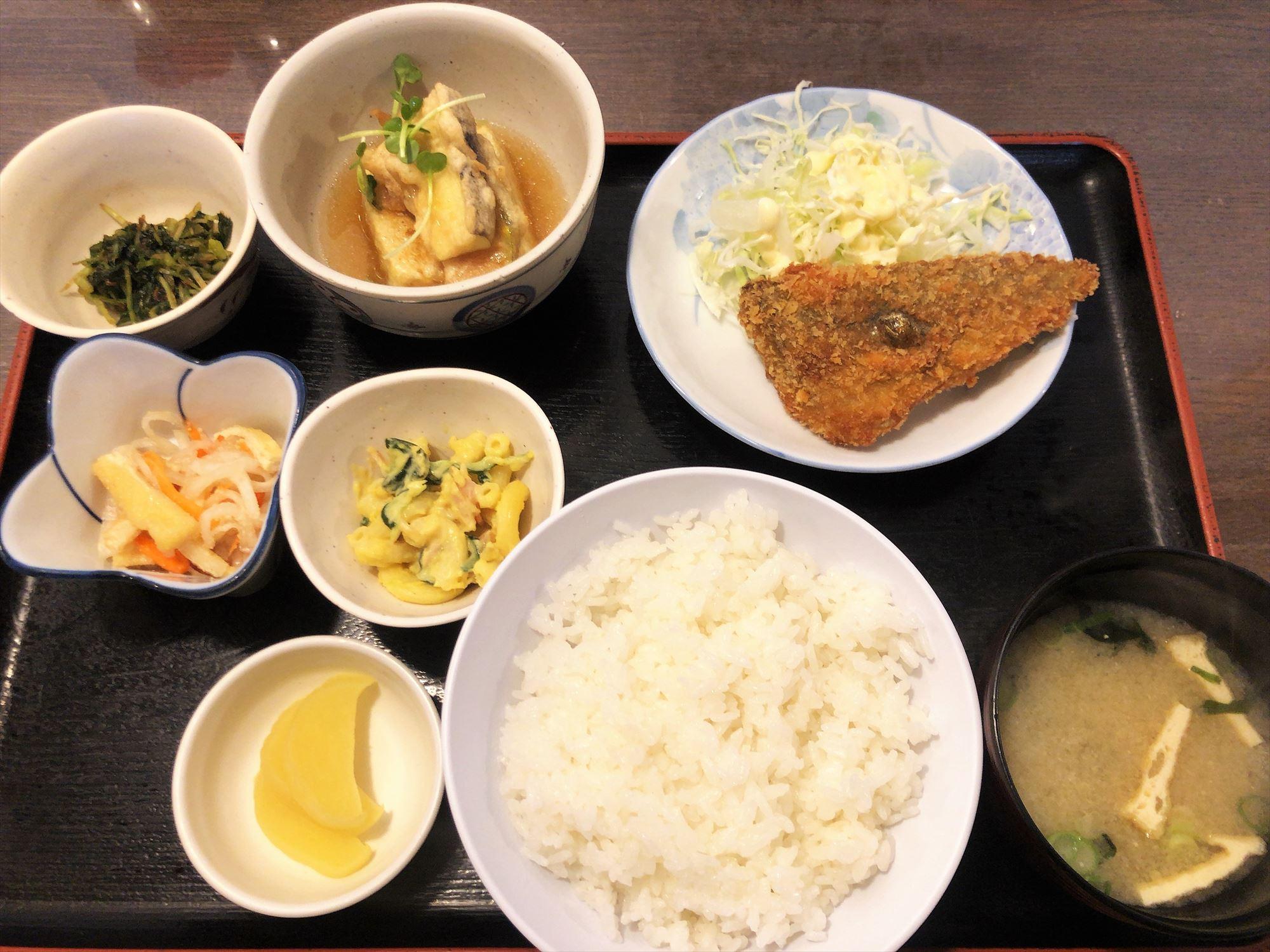定食の店 五郎八「日替りランチ」