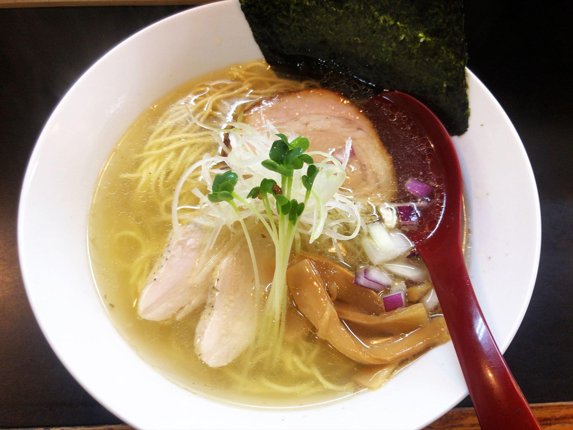 麺屋 KAZU-G「鶏そば しお」