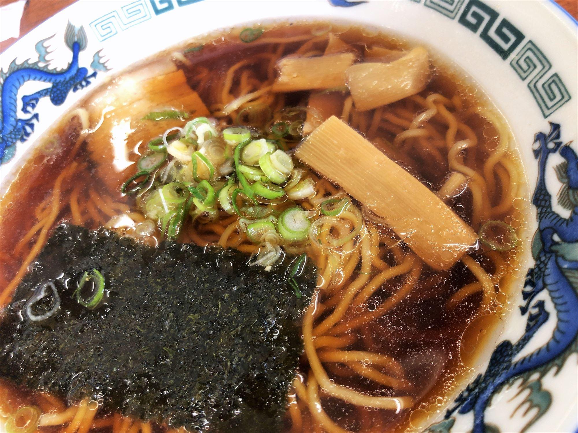 藤吉「醤油ラーメン」