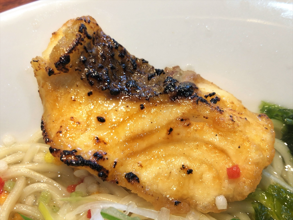麺匠 粋や「羅臼昆布と真鯛の潮そば」鯛