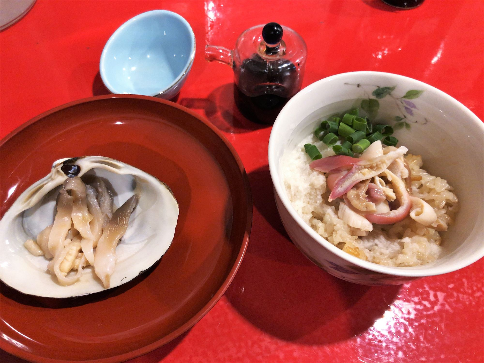 汁なし担々麺っぽい専門店 ラボラトリー「ほっき貝セット」