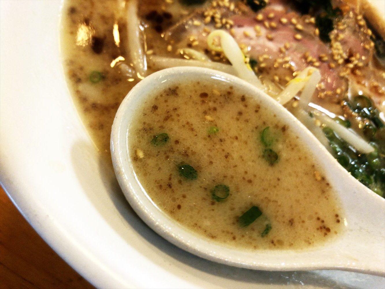 居酒屋 すぎのき「すぎのきラーメン」スープ