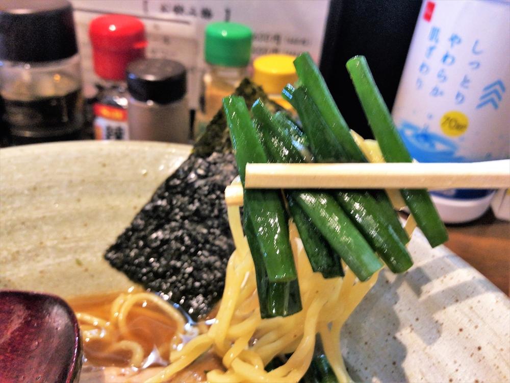 麺や 桜風「小ネギらーめん・醤油」小ネギ