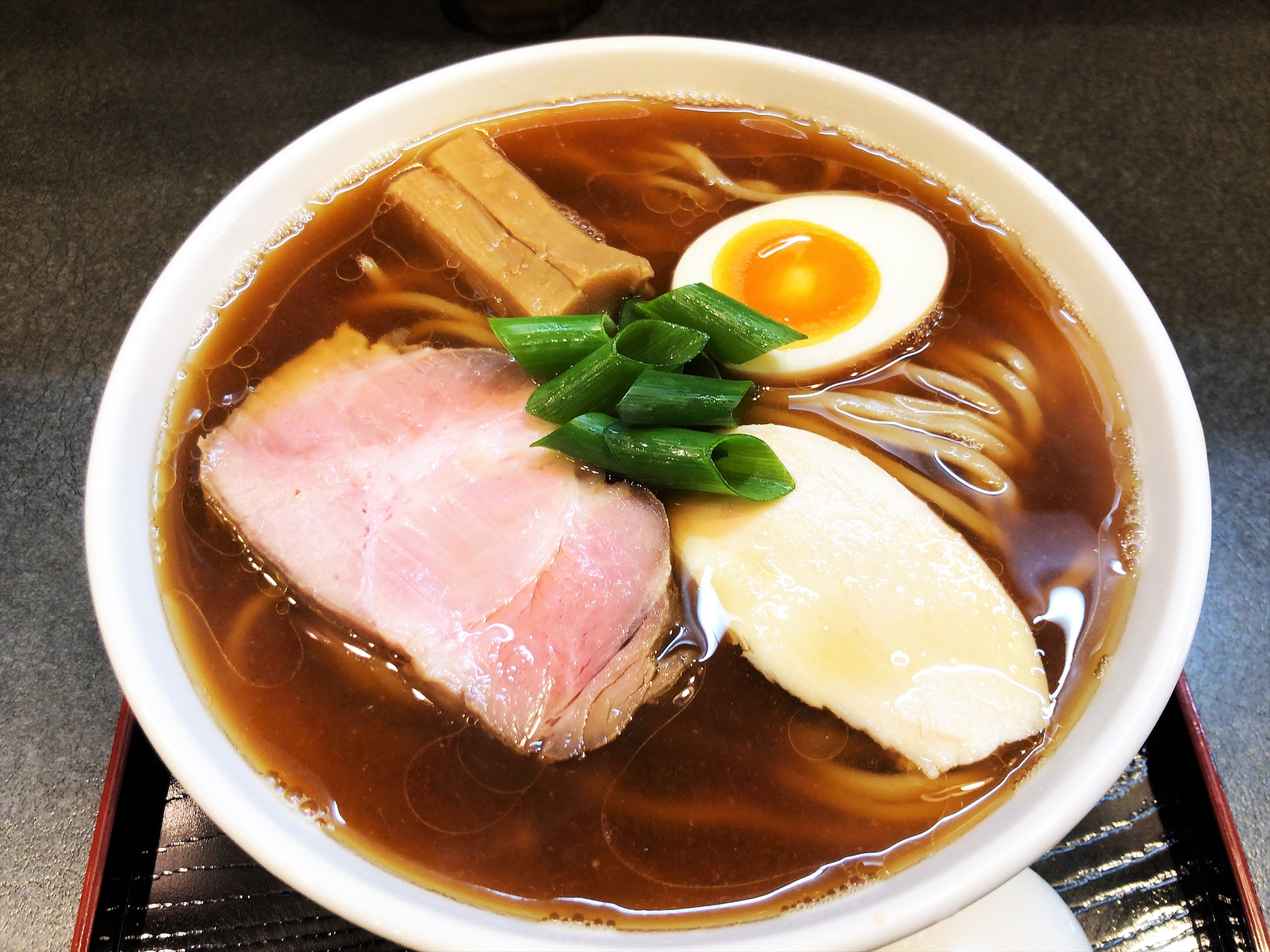 らぁ麺 幸跳「丸鶏たまり醤油らぁ麺」