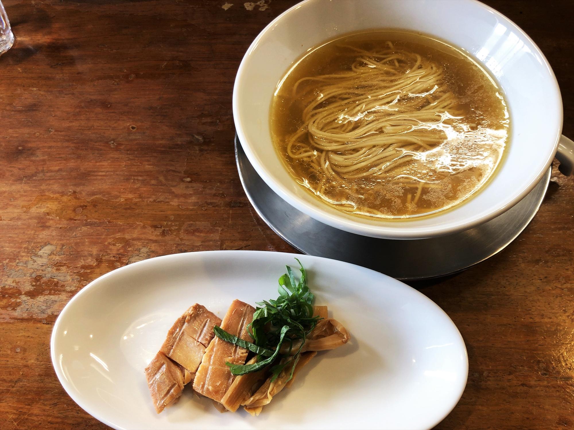 麺屋 菜花奈「魚貝潮Ⅱ」