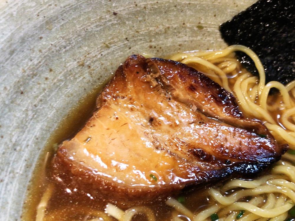 麺や 桜風「小ネギらーめん・醤油」チャーシュー