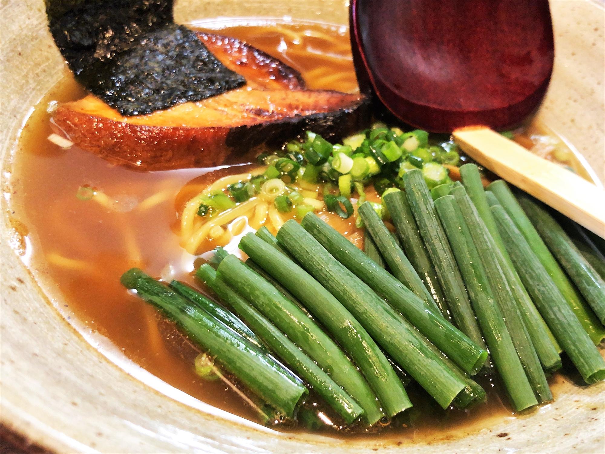 麺や 桜風「小ネギらーめん・醤油」