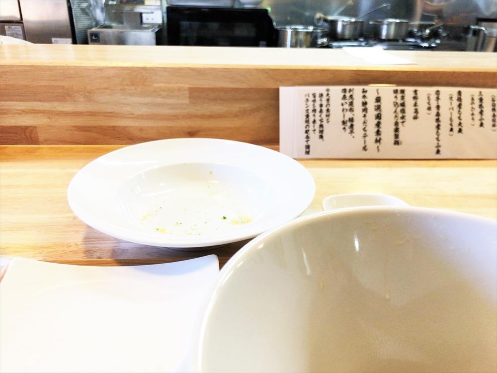 麦そば専門店 麦の上「麦そばの塩 天ぷら盛り」完スぺ