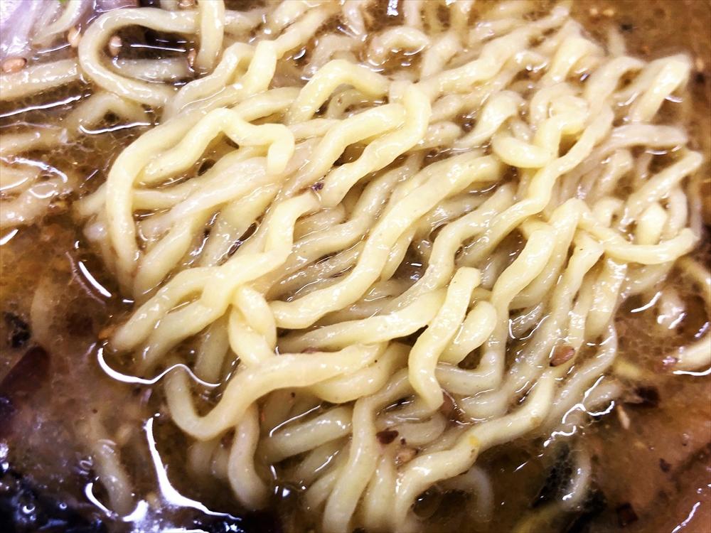 ラーメン 火の車 大喜「火の車ラーメン 浜しお」麺