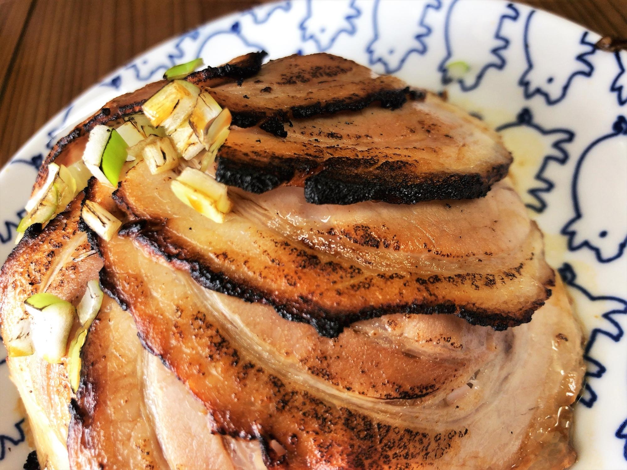 ちっきん「直火焼豚飯」