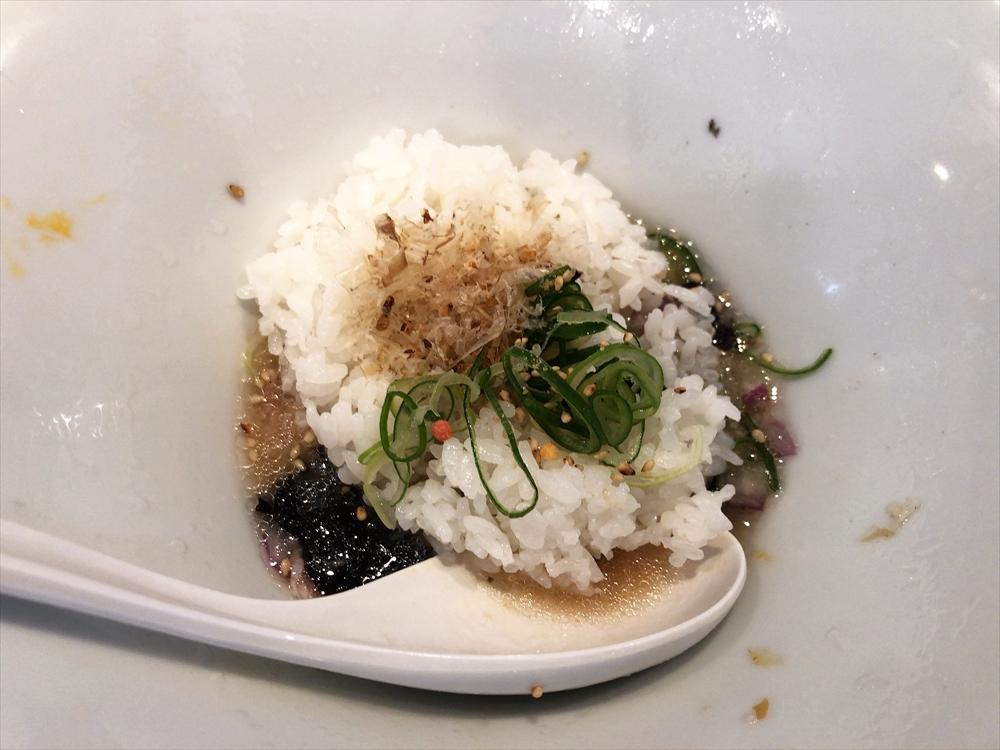 麺創房 LEO「もち小麦の冷香麺」追い飯