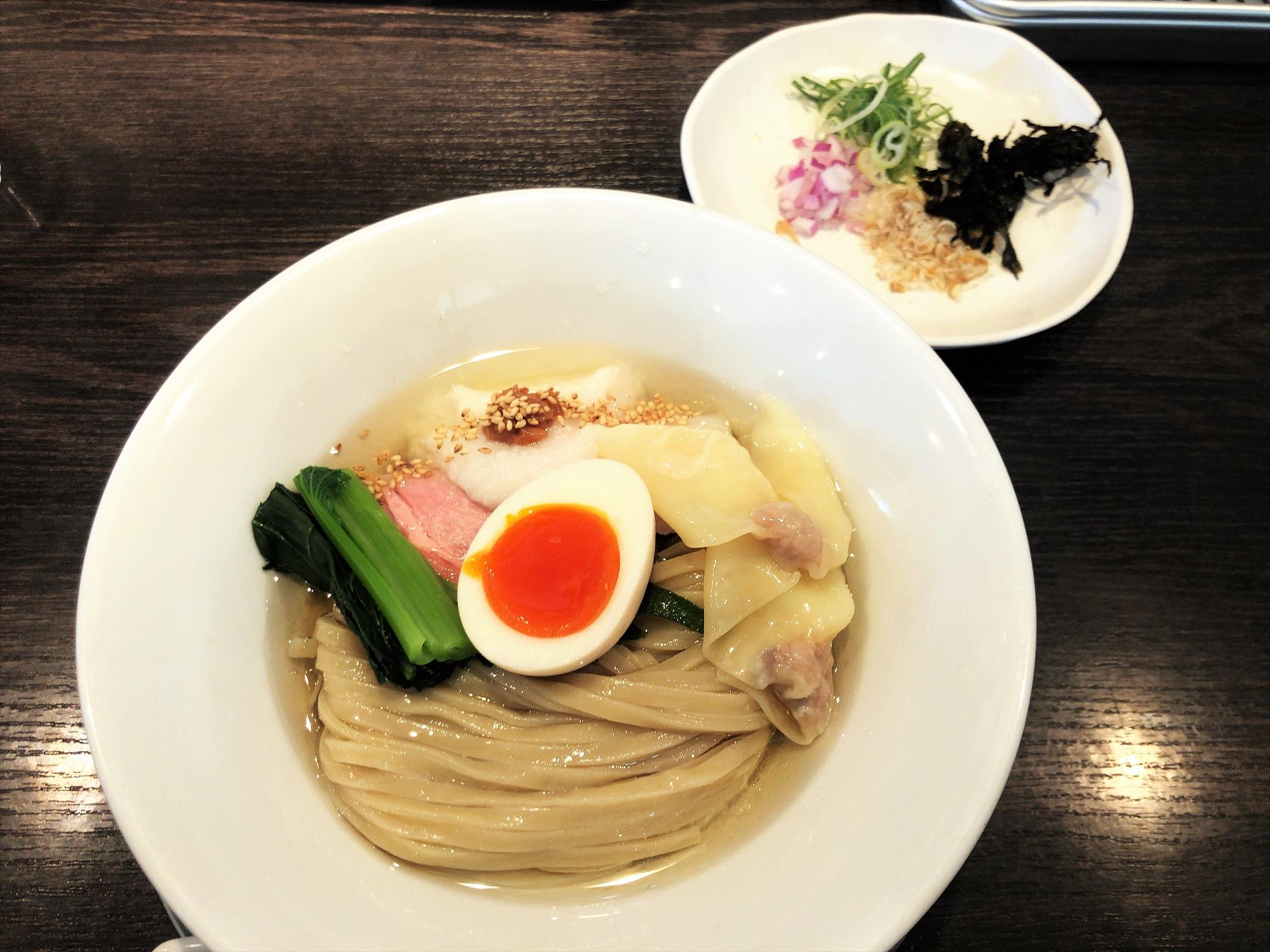 麺創房 LEO「もち小麦の冷香麺」