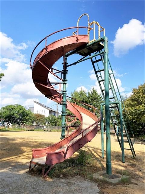 住吉公園「滑り台」