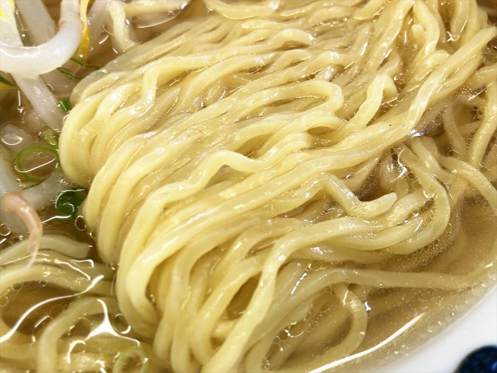 藤吉「塩ラーメン」麺