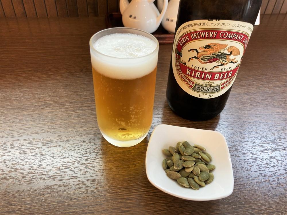 中国料理 花茶亭「ビール」
