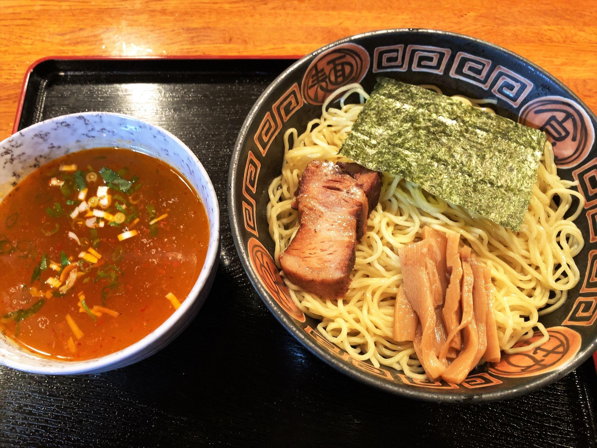 聖夜「塩つけ麺(特)」