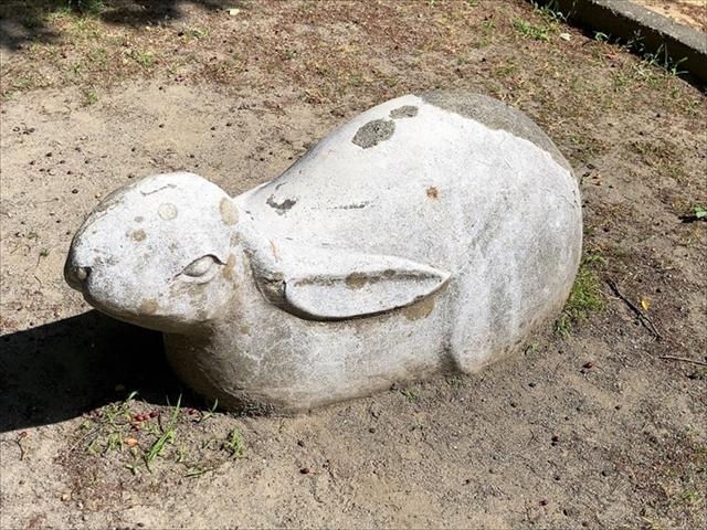 住吉公園「ウサギ」