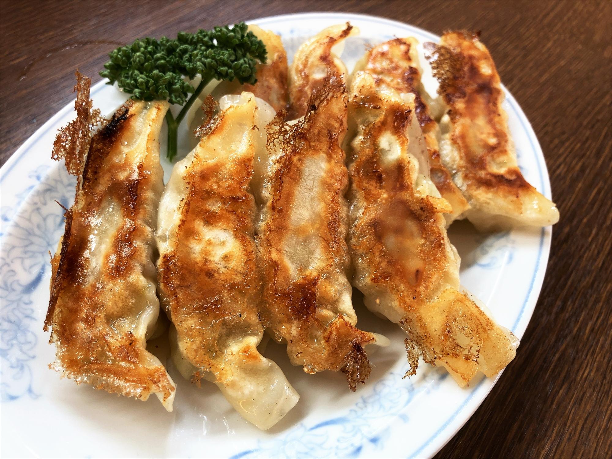 中国料理 花茶亭「焼きぎょうざ」