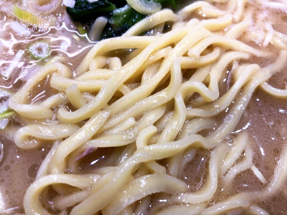 蔵前家「ラーメン」麺
