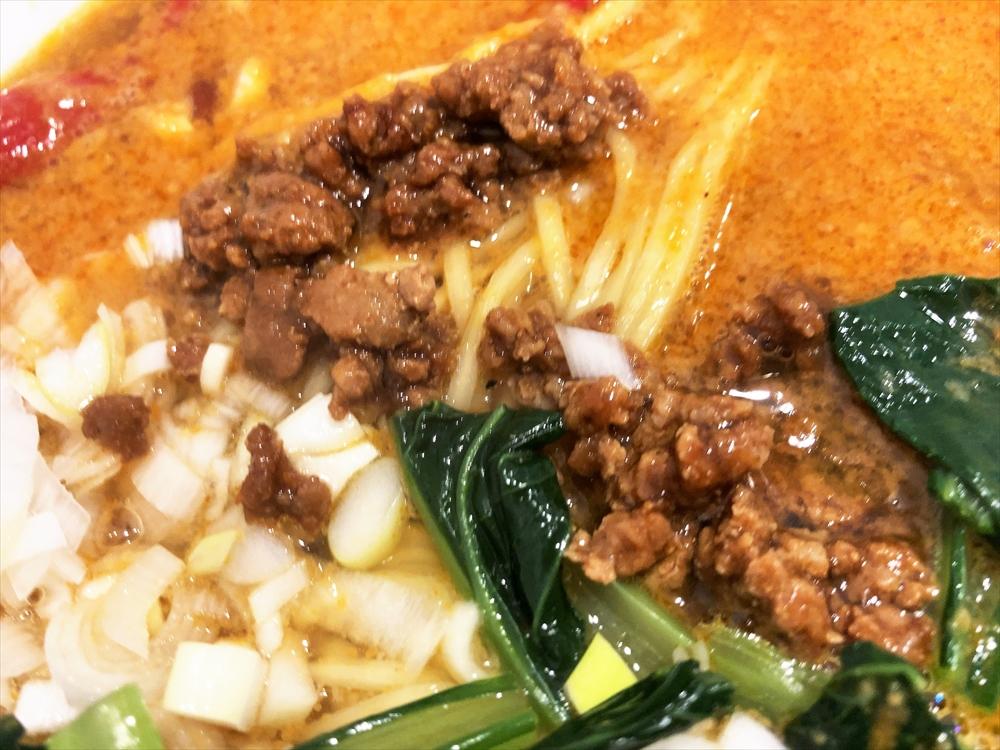 中華 若林「担々麺」ひき肉