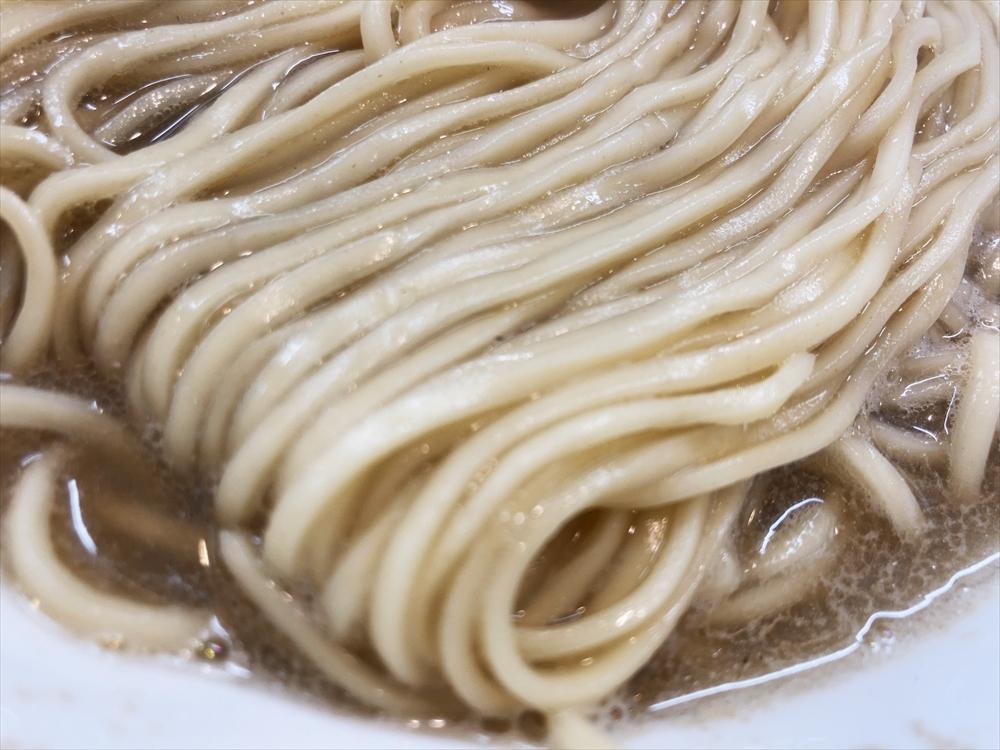 麺屋 菜花奈「にぼし 温(かけ)」麺