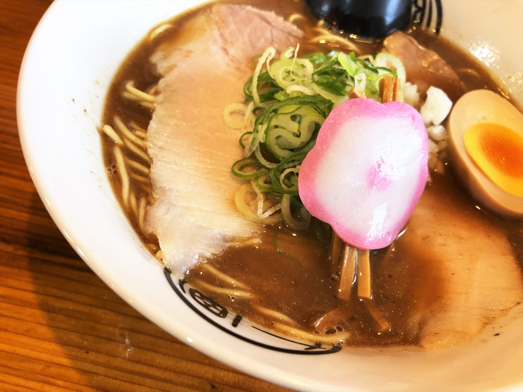 和歌山ラーメン 七星「煮干しとんこつ」