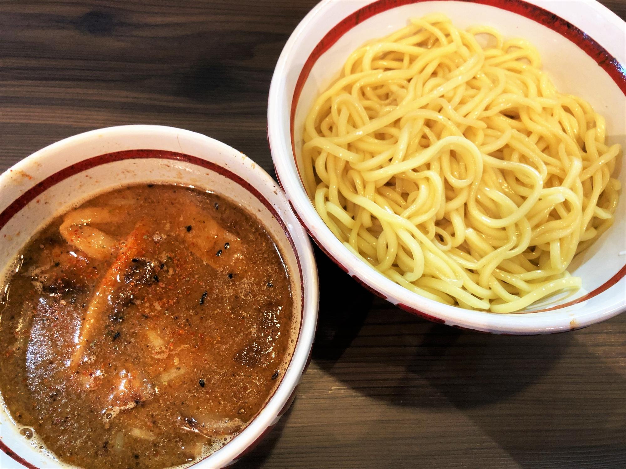 時代麺房 ライオン「つけ麺」