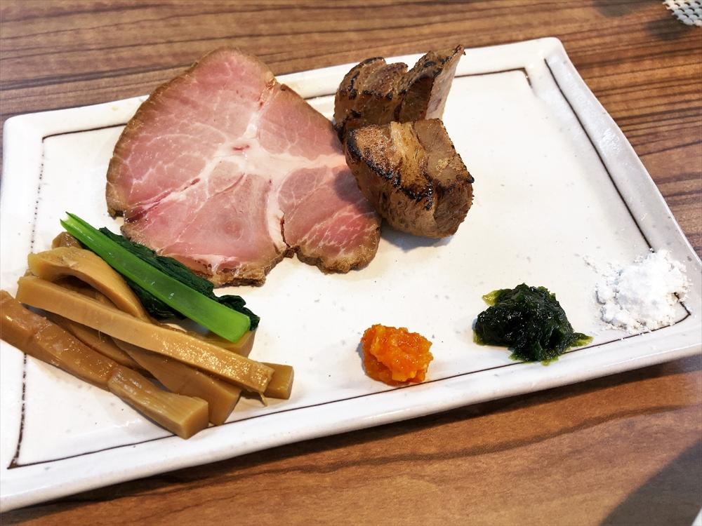 麺屋 真「醤油つけ麺(大盛)」別皿